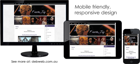 Mobile ready, responsive design