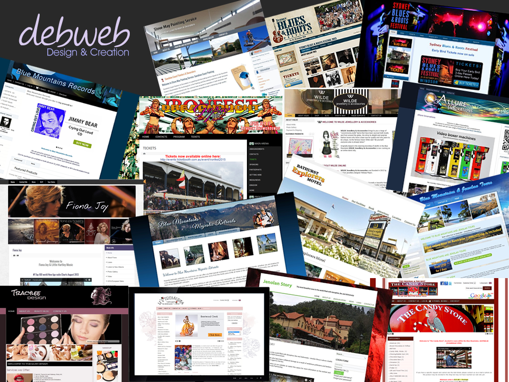 Debweb Custom Website Design