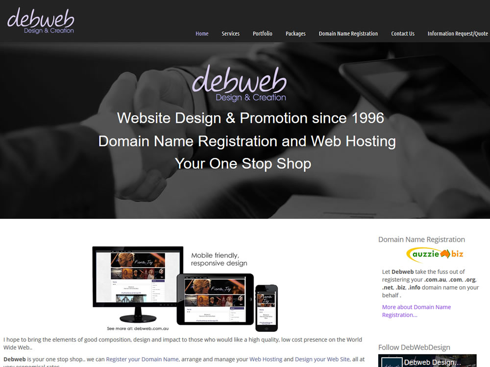 Debweb Design & Creation