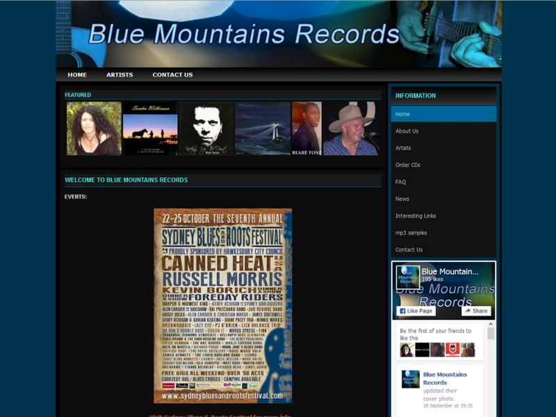 Blue Mountains Records