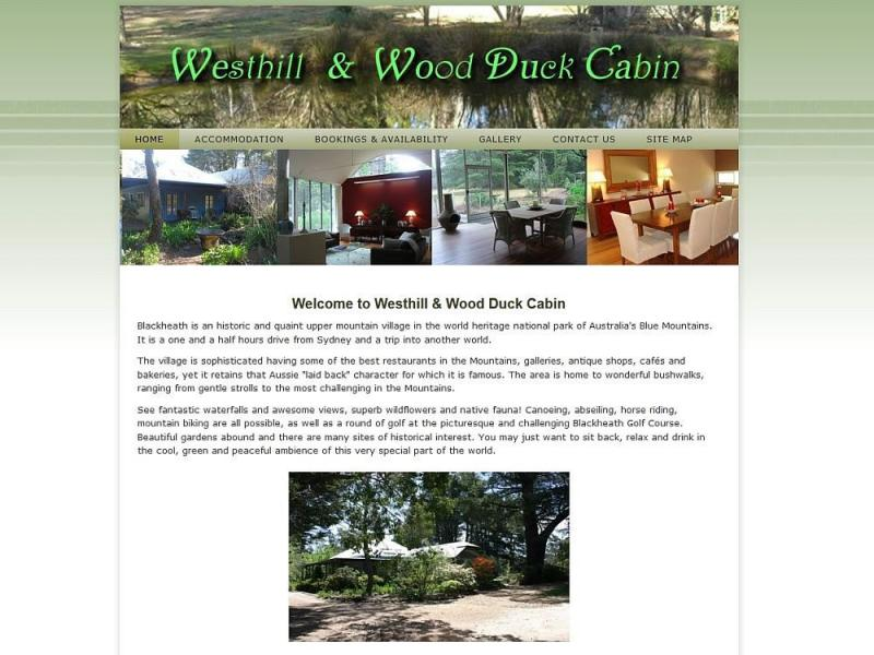 Westhill & Wood Duck Cabin